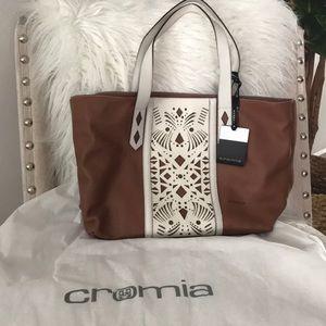 Handbags - Cromia genuine leather handbag